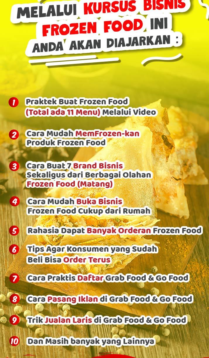 Frozen Food Ga Kursus Frozen Food